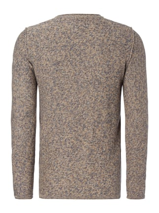 Jack & Jones Pullover im Inside-Out-Look Beige - 1