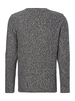 Jack & Jones Pullover im Inside-Out-Look Schwarz - 1
