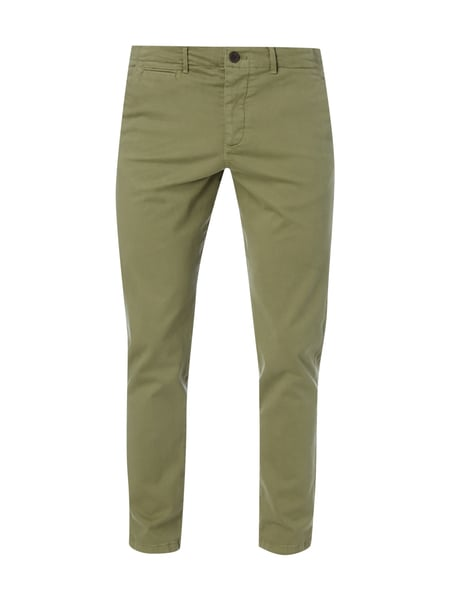 Jack & Jones Regular Fit Chino mit Stretch-Anteil Olivgrün