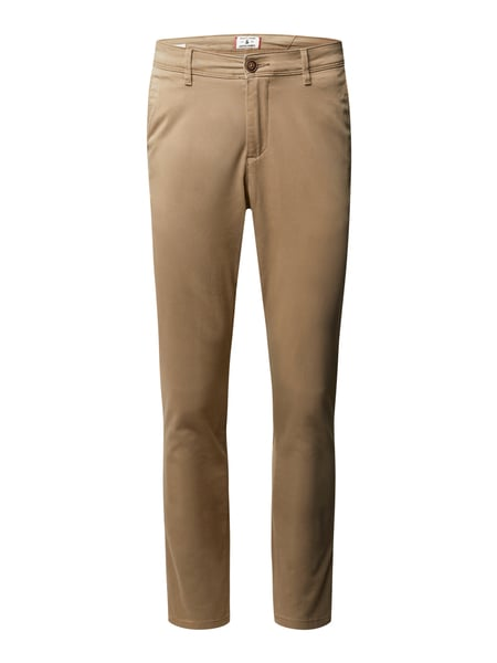 Jack & Jones Slim Fit Chino mit Stretch-Anteil Beige - 1