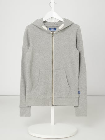 Jack & Jones Sweatjacke - 'Better Cotton Initiative' Grau - 1