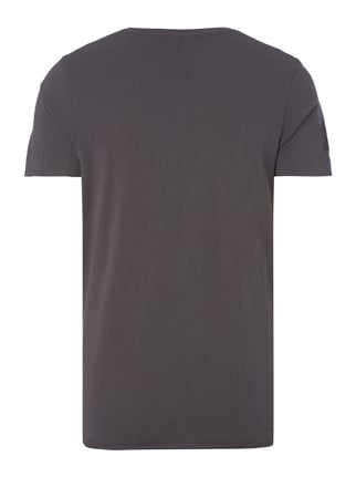 Jack & Jones T-Shirt mit Palmen-Print Anthrazit - 1