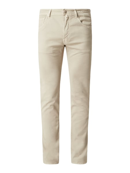 Jacob Cohen Comfort fit jeans met stretch, model 'J688' Beige - 1