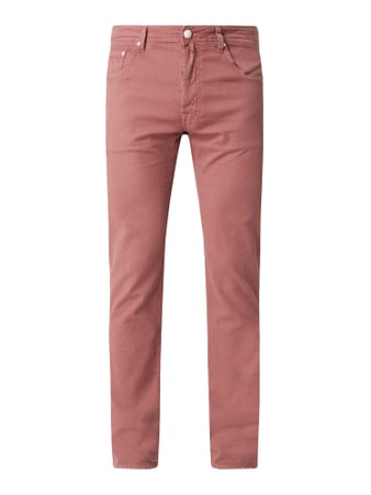 Jacob Cohen Comfort Fit Jeans mit Stretch-Anteil Modell 'J688' Rot - 1