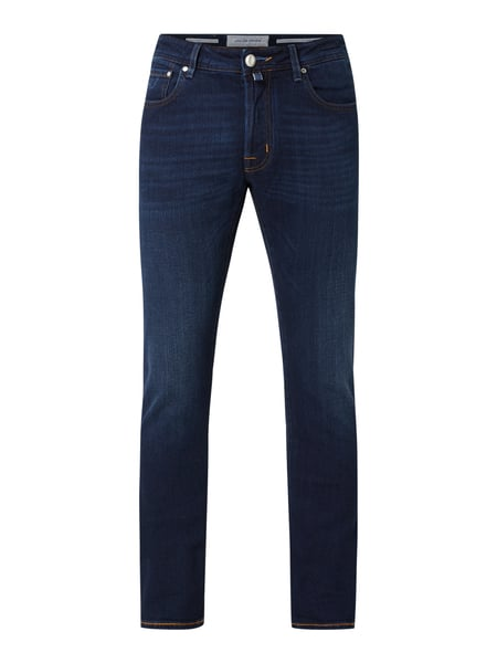 Jacob Cohen Jeans mit Stretch-Anteil in gerader Passform Blau - 1