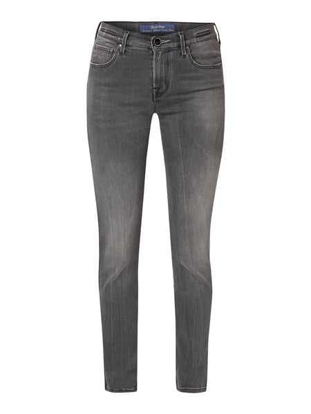 Jacob Cohen Slim fit jeans met stretch Grijs - 1