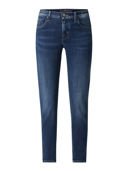 Jacob Cohen Straight fit jeans met stretch Blauw - 1