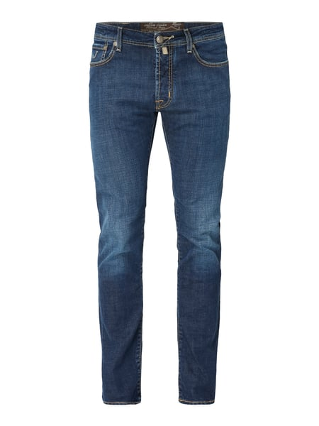 Jacob Cohen Stone Washed Comfort Fit Jeans Blau - 1