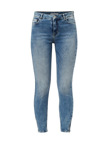 Jake*s Casual Bleached Skinny Fit Jeans Blau - 1