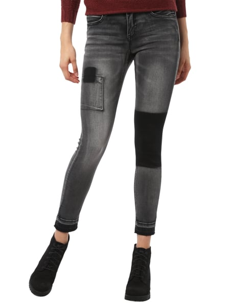 JAKES Double Stone Washed Skinny Fit Jeans in Grau   Schwarz online ... ad03d17441