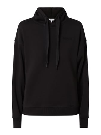 Jake*s Casual Hoodie mit Print in 3D-Optik Schwarz - 1