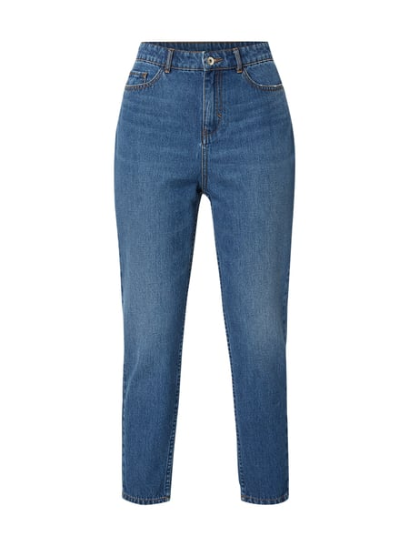Jake*s Light Stone Washed Mom Fit Jeans Blau / Türkis - 1