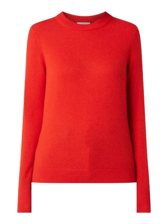 Jake*s Casual Pullover aus Kaschmir Orange - 1