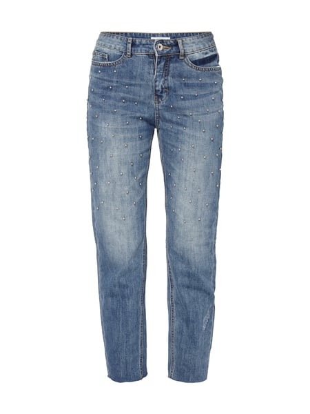 Jake*s Stone Washed Girlfriend Fit 5-Pocket-Jeans Jeans