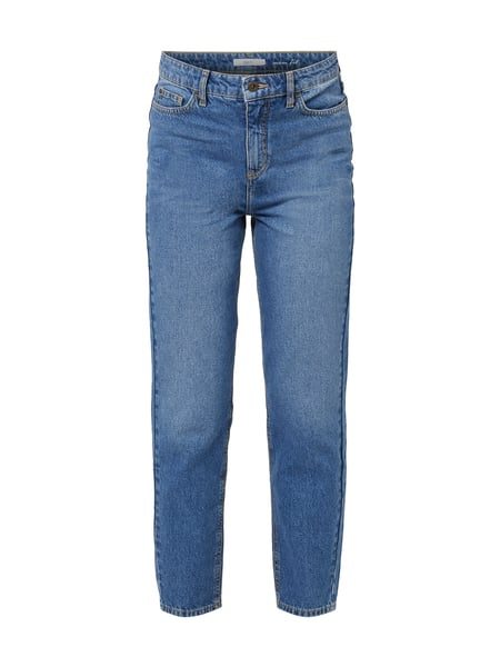 Jake*s Stone Washed Mom Fit Jeans Blau / Türkis - 1