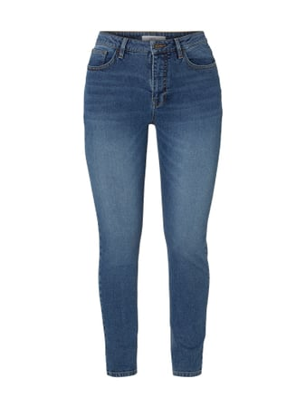 Jake*s Casual Stone Washed Skinny Fit Jeans Blau - 1