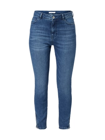 Jake*s Casual Stone Washed Slim Fit Jeans Blau - 1