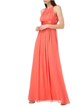 Jake*s Cocktail Abendkleid aus Chiffon in Rot - 1