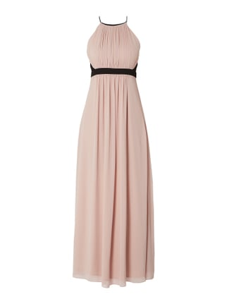 079391acd0c Jake s Cocktail Abendkleid aus Chiffon mit Cut Out Rosé - 1 ...