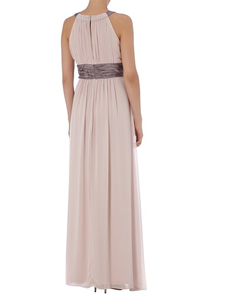 JAKES-COCKTAIL Abendkleid mit Collierkragen in Rosé online kaufen ...