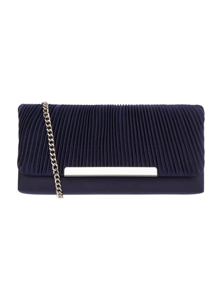 Jake*s Cocktail Clutch aus Satin Blau / Türkis - 1