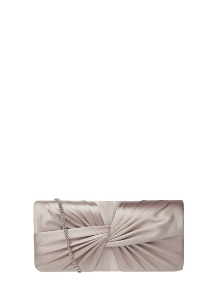 Jake*s Cocktail Clutch aus Satin mit Knotendetail Lila - 1
