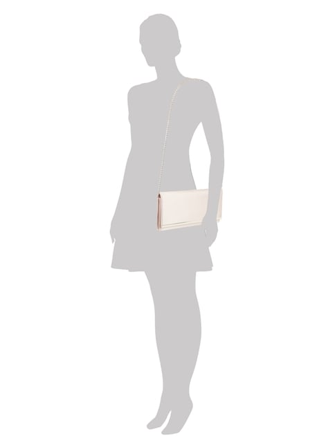 Jake*s Cocktail Clutch mit abnehmbarem Kettenriemen in Rosé - 1