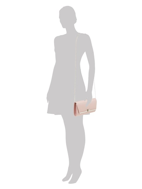Jake*s Cocktail Clutch mit Drehverschluss in Rosé - 1