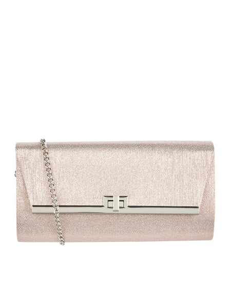Jake*s Cocktail Clutch mit Glitter-Effekt Rosa - 1