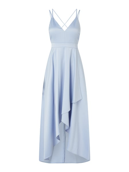 Jake*s Cocktail Cocktailkleid aus Chiffon in Vokuhila-Passform Blau - 1