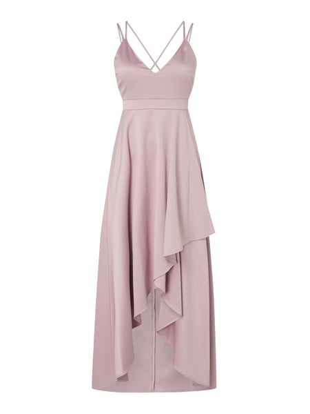 Jake*s Cocktail Cocktailkleid aus Chiffon in Vokuhila-Passform Rosa - 1