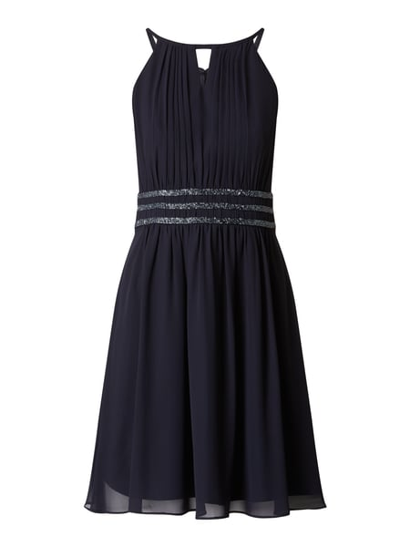 Jake*s Cocktail Cocktailkleid aus Chiffon Blau - 1