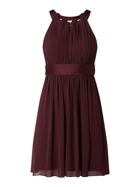 Jake*s Cocktail Cocktailkleid aus Chiffon mit Cut Outs Rot - 1