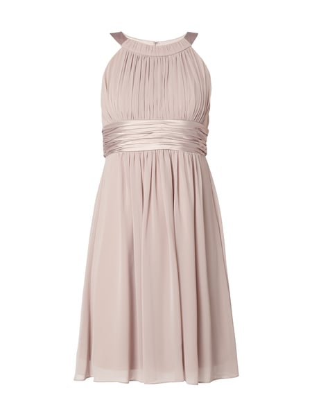 Jake*s Cocktail Cocktailkleid mit Collierkragen Mauve