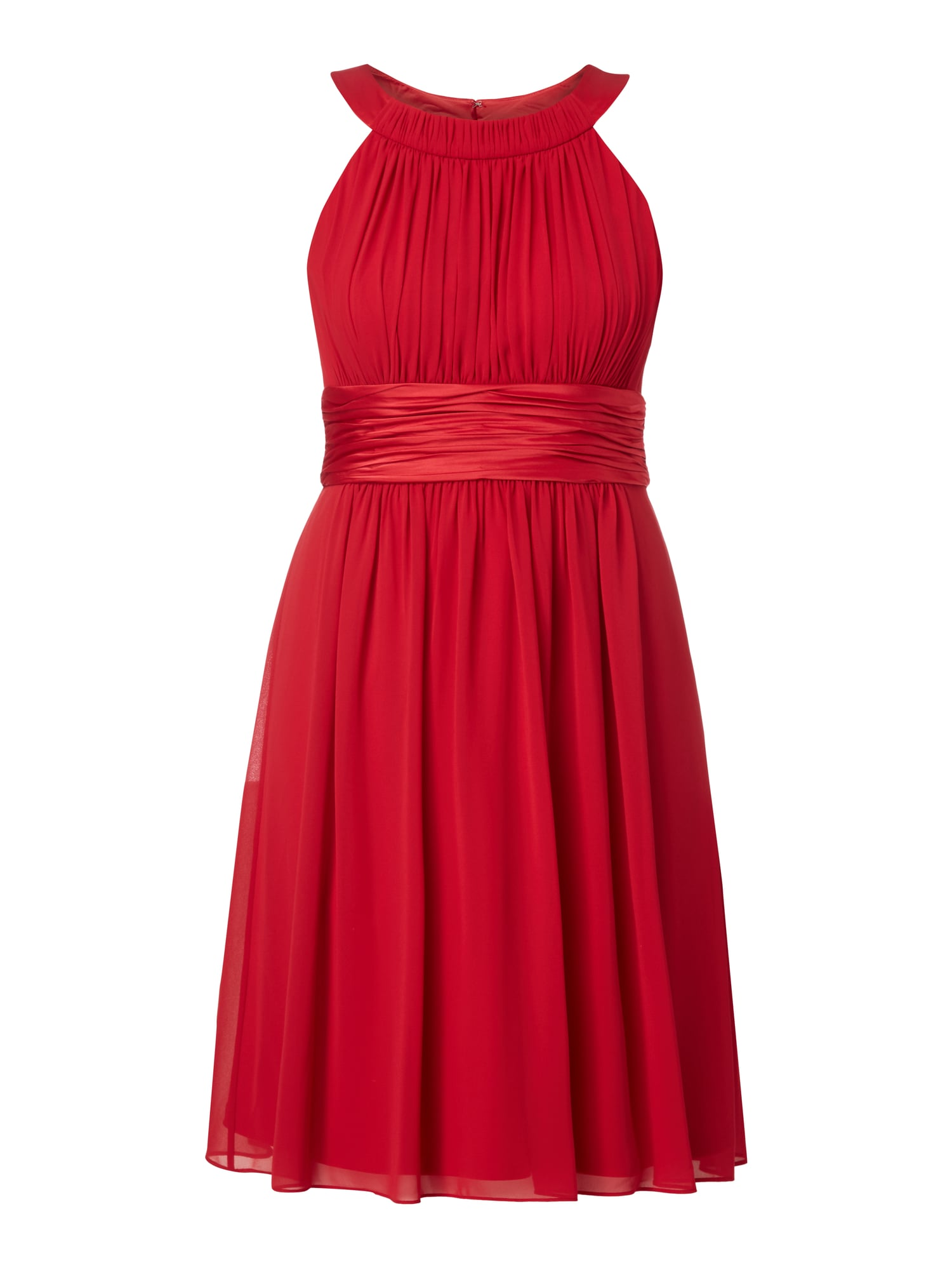 JAKES-COCKTAIL Cocktailkleid mit Collierkragen in Rot online kaufen ...