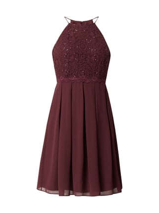 Jake s Cocktail Cocktailkleid mit Pailletten-Besatz Lila - 1 ... fbd08b0905