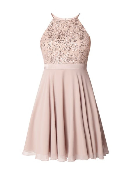 JAKES-COCKTAIL Cocktailkleid mit Pailletten-Besatz in Lila online ... 7ba87795fd