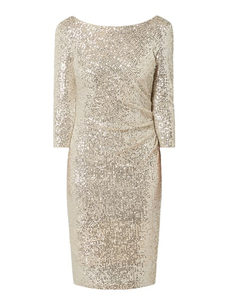 Jake*s Cocktail Cocktailkleid mit Pailletten Beige - 1