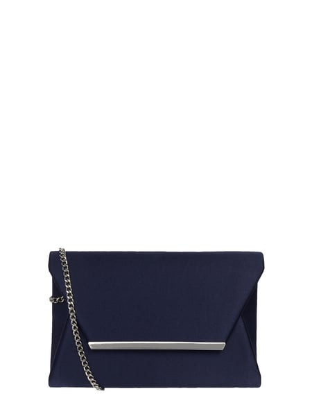 Jake*s Cocktail Pochette aus Satin Blau / Türkis - 1