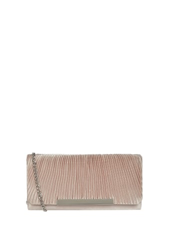 Jake*s Cocktail Pochette aus Satin Rosa - 1