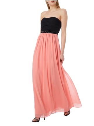 Jake*s Cocktail Two-Tone-Abendkleid aus Chiffon in Rot - 1