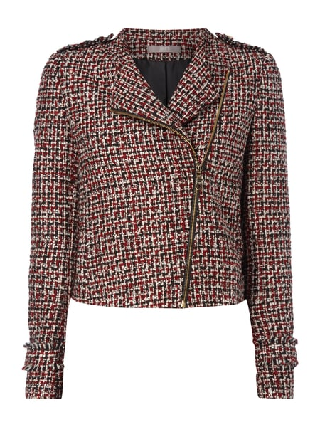 JAKES-COLLECTION Blazer aus Bouclé in Rot online kaufen (9690613 ... 9f28a608e7