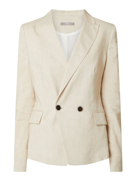 Jake*s Collection Blazer aus Leinenmischung Beige - 1