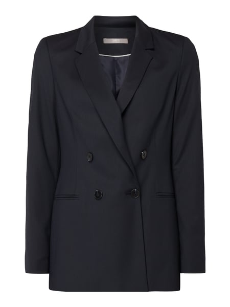 Jake*s Collection Blazer mit 2-reihiger Knopfleiste Blau - 1