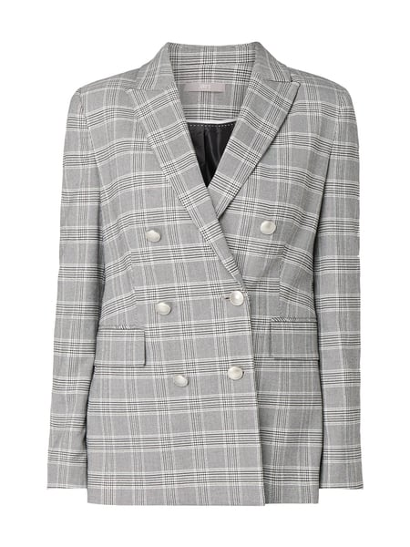 Jake*s Collection Blazer mit Glencheck Grau / Schwarz - 1