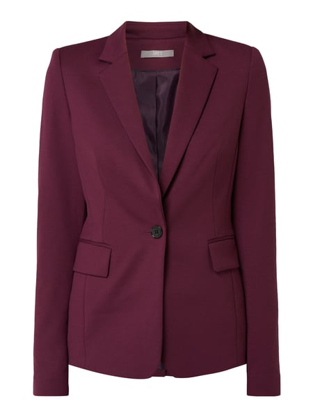 Jake*s Collection Blazer mit Reverskragen Rot - 1