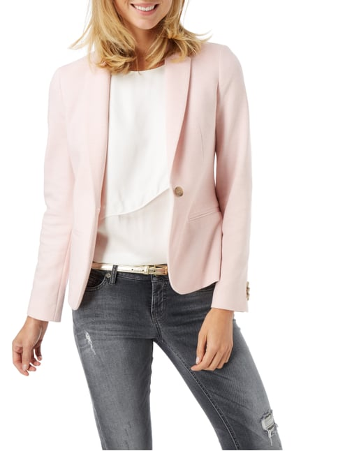 Jake*s Collection Blazer mit Webstruktur Rosé - 1