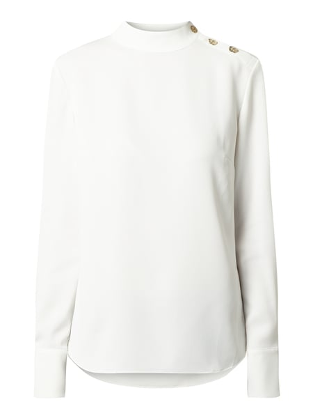 Jake*s Collection Blouseshirt met opstaande kraag Wit - 1