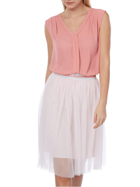 Jake*s Collection Blusentop aus Chiffon Lachs - 1