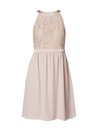 Jake*s Collection Cocktailkleid mit floraler Spitze Rosé - 1